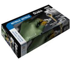 JUBA 580MG8 - Guantes desechables s/polvo nitrilo azul 100 unidades  XS